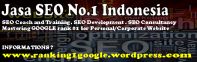 Jasa SEO No.1 di Indonesia -Individual/Corporate